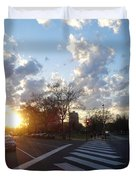 Parkway Sunset Duvet Cover