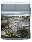 Parlament Quebec  Duvet Cover