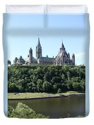 Parliament Hill - Ottawa Duvet Cover