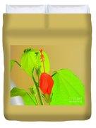 Parlor Maple Flower Duvet Cover