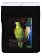 Parrot Duvet Cover by George Wesley Bellows