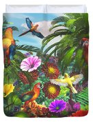 Parrot Jungle Duvet Cover