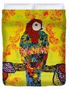 Parrot Oshun Duvet Cover