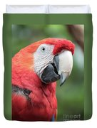 Parrot Profile Duvet Cover
