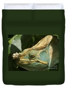 Parsons Chameleon From Madagascar 12 Duvet Cover