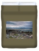 Partially Thawed Lake Erie  Duvet Cover