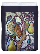 Partridge In A Pear Tree 1 Duvet Cover