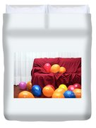 Party Balloons Duvet Cover