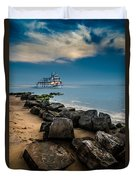 Party Cruise Duvet Cover