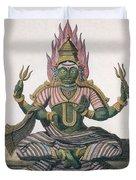 Parvati, From Voyage Aux Indes Et A La Duvet Cover