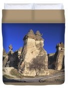 Pasabag Goreme National Park Cappadocia Turkey Duvet Cover