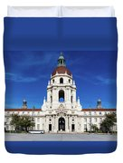 Pasadena City Hall, Pasadena California Duvet Cover