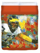 Pass Block In Color Duvet Cover