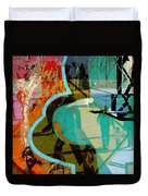 Passangers Paintbrush  Duvet Cover