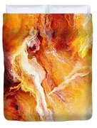 Passion - Abstract Art Duvet Cover