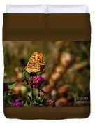 Passion Butterfly Duvet Cover