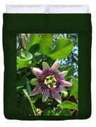 Passion Flower 1 Duvet Cover