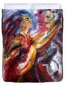 Passion Is Tango Duvet Cover