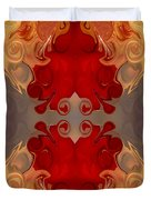 Passionate Explosions Of Colorful Reality By Omaste Witkowski Duvet Cover