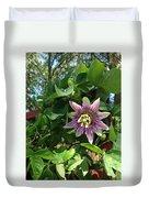 Passion Flower 3 Duvet Cover