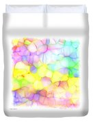 Pastel Abstract Patterns IIi Duvet Cover