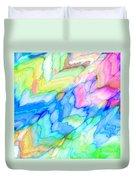 Pastel Abstract Patterns V Duvet Cover