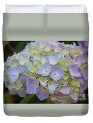 Pastel Blue Hydrangea Duvet Cover
