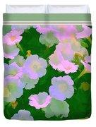 Pastel Flowers II Duvet Cover
