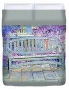 Pastel Patio Duvet Cover