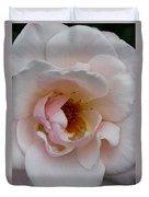Pastel Pink Rose Duvet Cover