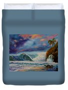 Pastel Sunset Duvet Cover