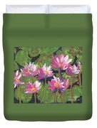 Pastel Water Lilies I  Duvet Cover