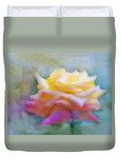 Pastelacious Rose Duvet Cover