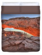 Pastels At Canyonlands Duvet Cover