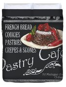 Pastry Cafe Duvet Cover