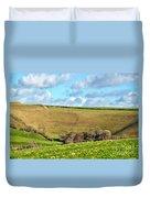 Pasture Land - Dorset Duvet Cover