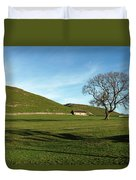 Pasture Land At Thorpe - Derbyshire Duvet Cover