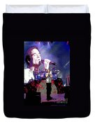 Pat Monahan Of Train Duvet Cover