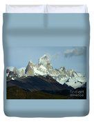 Patagonia Mount Fitz Roy 1 Duvet Cover