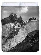 Patagonian Mountains Duvet Cover