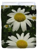 Patch Of Daisies Duvet Cover