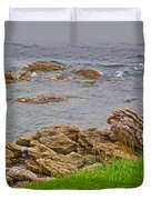 Patch Reefs At Point Amour In Labrador Duvet Cover