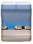 Path Leading To Heaven Duvet Cover