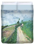 Path Leading To Ville D'avray Duvet Cover
