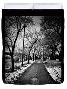 Path Me Bye  Duvet Cover