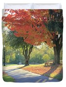 Path Of Change Duvet Cover
