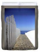 Path Out To Sea Duvet Cover