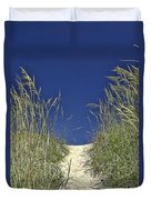 Path Through The Dunes Duvet Cover