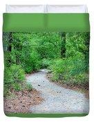Path Through The Woods Duvet Cover