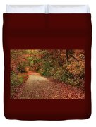 Path Thru The Woods Duvet Cover